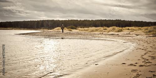 Findhorn Beach Canvas-taulu
