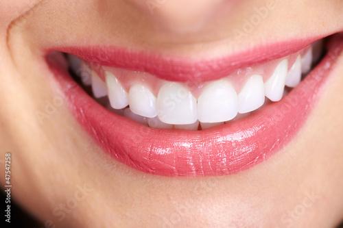 Beautiful woman smile. #47547258