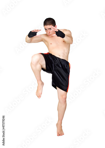 Photo  Young Kickboxer