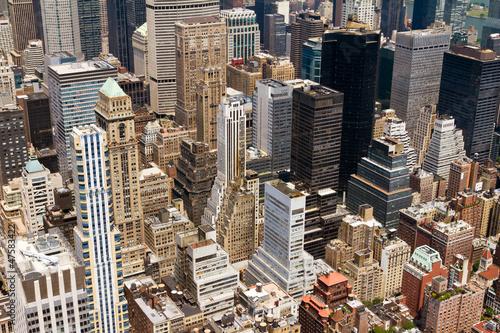 Foto op Plexiglas New York TAXI City Buildings Background Texture New York