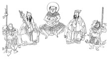 Chinese Traditional Gods - Talismans