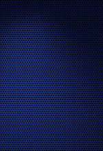 Dark Blue Texture With Hexagon...