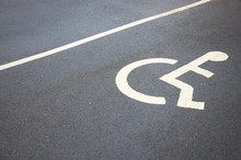 Disabled Car Parking Space