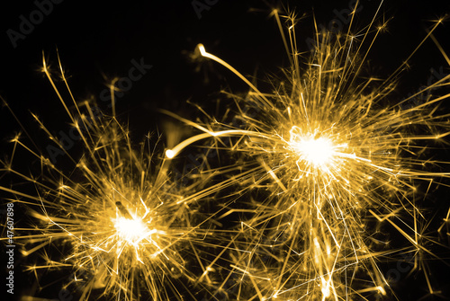 Fototapeta Sparkler obraz na płótnie