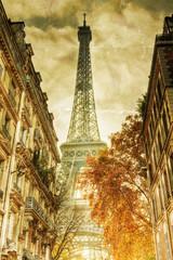 Obraz nostalgisches Bild vom Eiffelturm