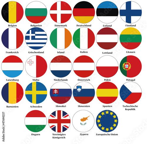 vektor europa fahnen flaggen  kaufen sie diese