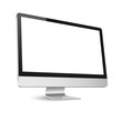 canvas print picture - Computer display isolated on white