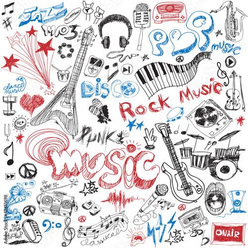 recznie-rysowac-element-muzyczny