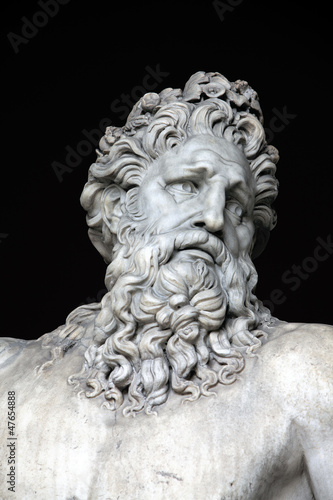Foto op Plexiglas Historisch geb. River Tiber sculpture