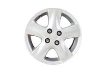 Car Wheel On White Isolate