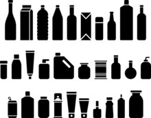 Bottles & Packaging Icons