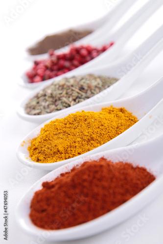 Papiers peints Herbe, epice assortment of spices
