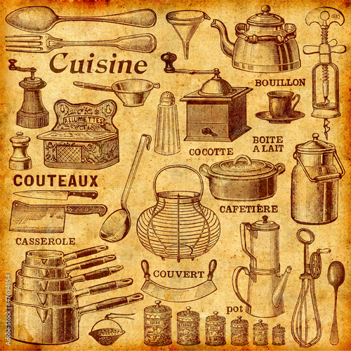 Obrazy na płótnie Canvas La cuisine