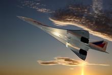 Concorde Im Steigflug