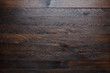 canvas print picture - Rustic wooden table background top view