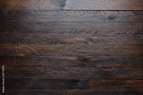 Tuinposter Hout Rustic wooden table background top view