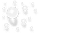 Wasser Tropfen Vektor 3D