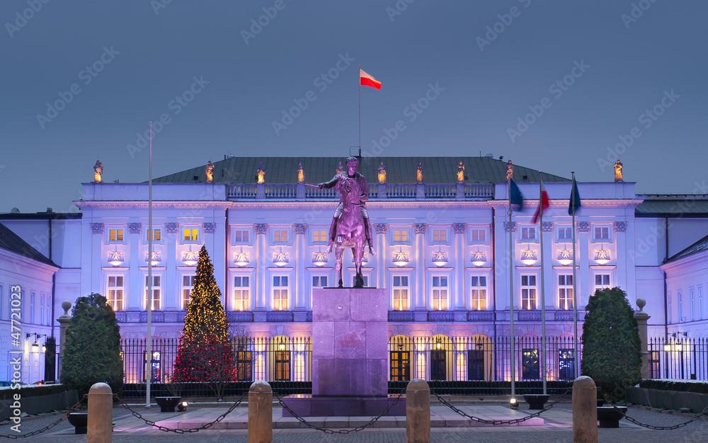 Fototapety, obrazy: Pałac Prezydenta Polski w Warszawie