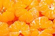 Group of Mandarine oranges