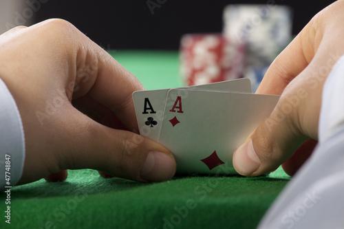 фотография  Poker Aces pair