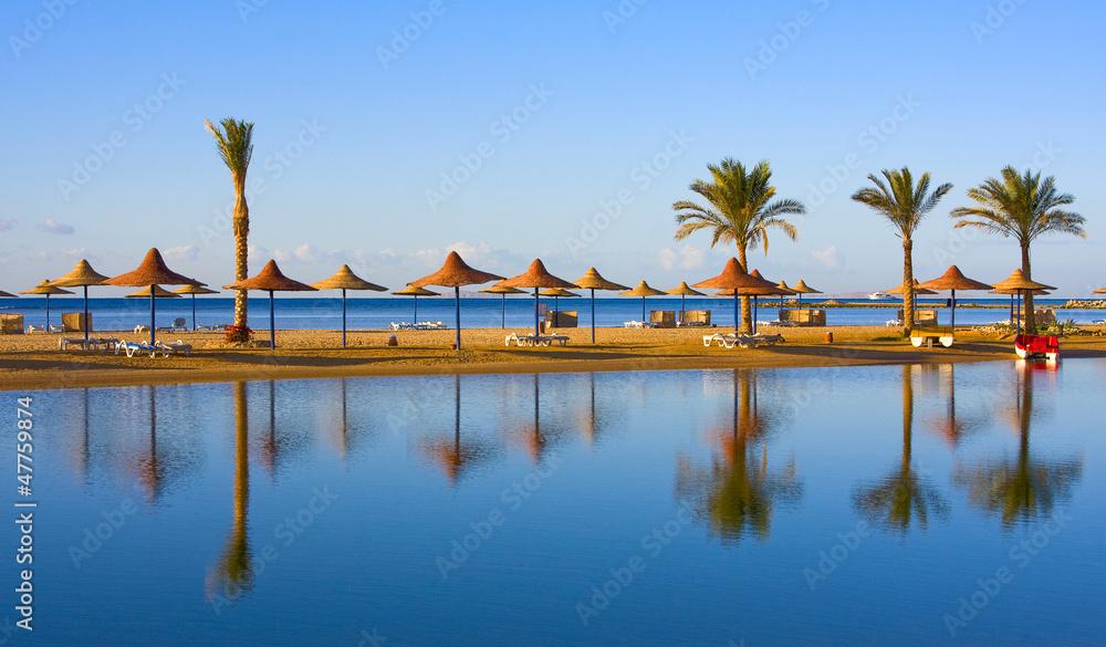 Fototapeta Beach in Egypt