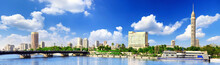 Panorama On Cairo, Seafront Of...