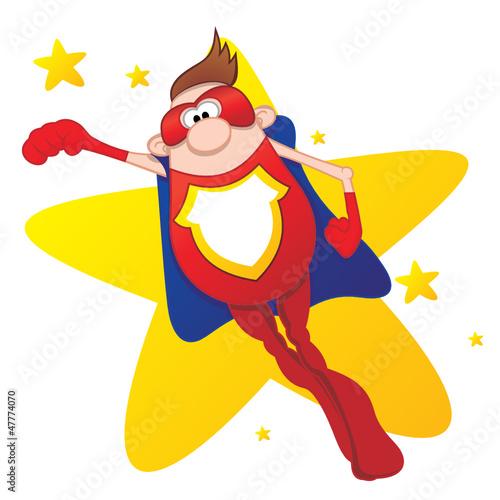 Staande foto Superheroes Super Hero