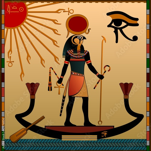 bogowie-starozytnego-egiptu-aten-i-ra