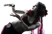Arabic Woman Belly Dancer Danc...