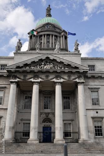 Photo  The Customs House in Dublin, Ireland