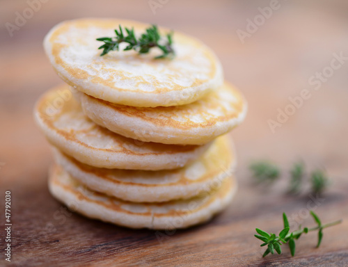 Recess Fitting Appetizer Blinis