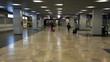 Travelers in airport.