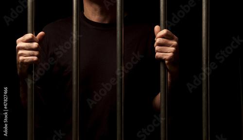 Fényképezés  prisoner behind bars