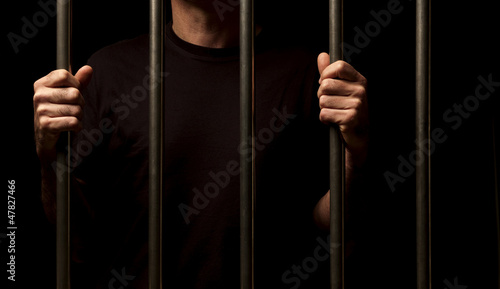Fotografie, Obraz prisoner behind bars