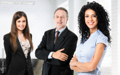 Fototapety, obrazy: Business people