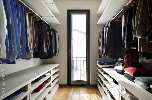 Valokuva  interior, wardrobe