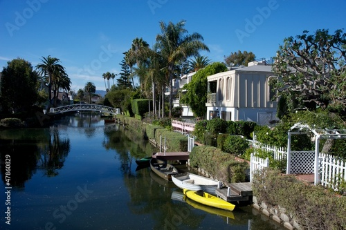 Foto op Plexiglas Los Angeles venice canals , los angeles