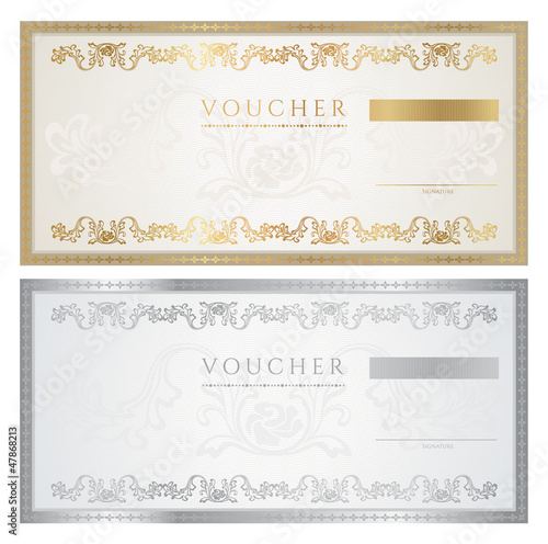 Valokuvatapetti Voucher / coupon