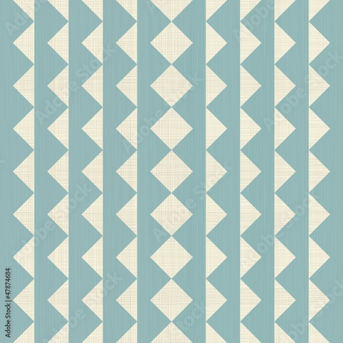 Poster ZigZag abstract seamless ornament in texture