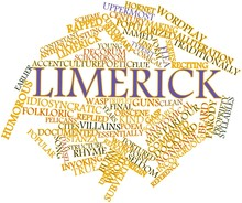 Word Cloud For Limerick