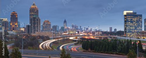 Plakat Atlanta, Georgia.
