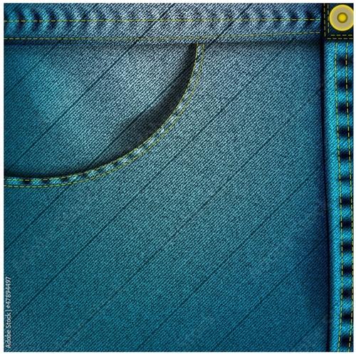 Photo sur Toile Les Textures realistic jean's