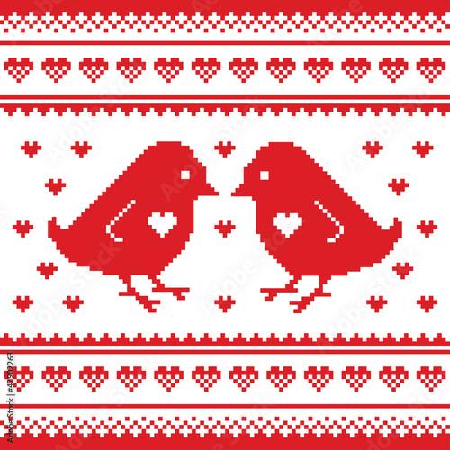 walentynki-uwielbiam-pikselowana-karte-z-ptakami-i-sercami