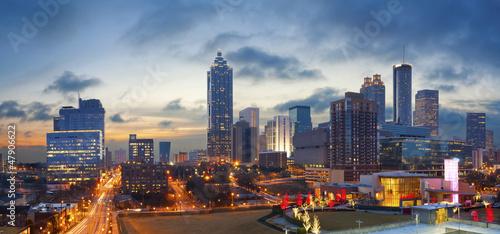 City of Atlanta. Canvas Print
