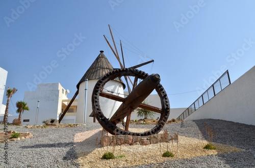 Viejo molino harinero en Carboneras