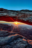 vertical view of Sunrise at Mesa Arch - 47914462