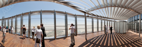 Fotografie, Obraz  Burj Khalifa at the Top