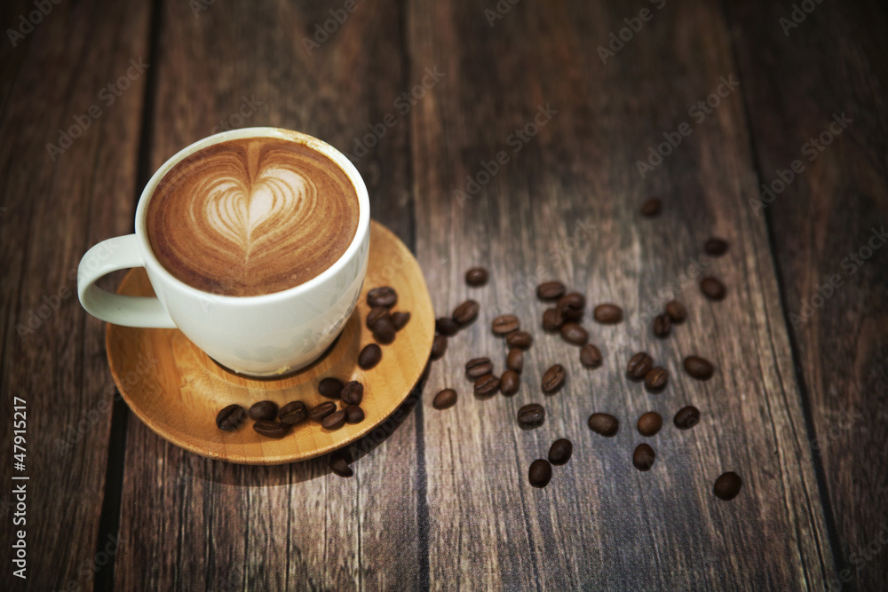 Fototapety, obrazy: Great shoot of coffee cup