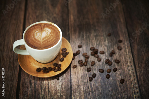 Obraz Great shoot of coffee cup - fototapety do salonu