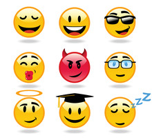 Emoticons Character Icons